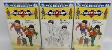 DC Comics - Super Sons #1 - HOC Frank Quitely 3x Set - Signed