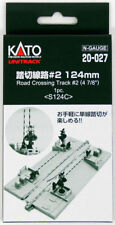 """Kato 20-027 124mm (4 7/8"""") Road Crossing Track #2 S124C  (1 piece) (N scale)"""