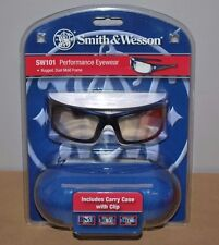 Smith & Wesson Performance Eyewear Shooting Glasses w/ Case - SW101