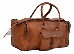 Bag Luggage Travel Duffle Men Leather Carry on Shoulder S Weekend Handbag Large