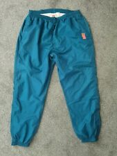 Vintage 80s Nike Blue Tracksuit Trackie Shell Suit Bottoms Pants - Size XXL 2XL