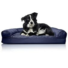 Dog Beds Extra Large Washable Fancy Sofa Big Therapeutic Removable Cover XL Blue