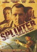 Splinter (DVD, 2007) Tom Sizemore, Edward James Olmos