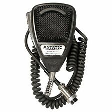Astatic 636L CB Noise Canceling Microphone 4 Pin plug Black - 302-636LB1 NEW