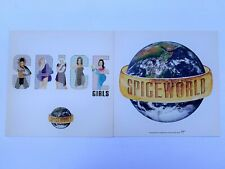 SPICE GIRLS Set of 2 12x12 Double Sided Promo Poster Flat Spice World 1997