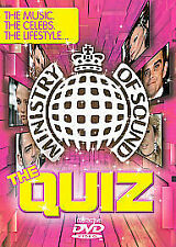The Quiz: Ministry Of Sound Interactive DVD Game Interactive DVD Sealed 2006