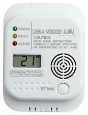 Kohlenmonoxid Melder mit LCD Display Grundig Co Alarm 334567f