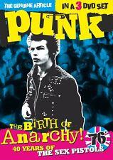 The Birth of Anarchy (3DVD Box Set) 2016 DVD
