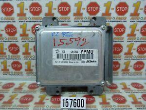 2008 CHEVROLET TAHOE ENGINE COMPUTER MODULE ECU 12617630 12612384 YPMU OEM