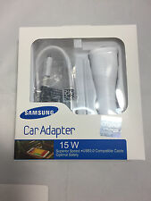 Samsung Fast Adaptive 15W Rapid Car Charger - OEM Original in Retail Pack