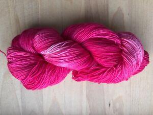 GOLDEN BROWN  2941 Handgefärbte Sockenwolle 4 fach 100 g