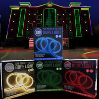 5M LED NEON FLEX DECORATIVE ROPE LIGHT FLEXIBLE STRIP INDOOR OUTDOOR GARDEN XMAS