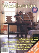 WOODWORKING MAGAZINE - THE AUSTRALIAN WOODWORKER No 99