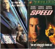 Mercury Rising (VHS, 1998) & Speed - 2 ACTION VHS