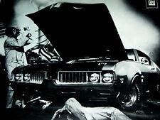 1969 Oldsmobile 442 Cutlass W31 Original Ad *Dr.Olds*hood/door/emblem /seat/dash