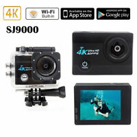 Sports Helmet Action Camera Cam Camcorder DV Full HD 4K Wifi 16MP Waterproof