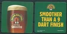JOHN SMITH'S BEER, BEERMAT/COASTER FROM U.K. NEW-UNUSED -GV 030915