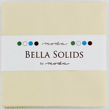 "Moda Bella Solids Fig Tree Cream Charm Pack 42 5"" Fabric Squares 9900PP-67"