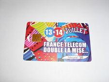 "TELECARTE ""France Telecom Double La Mise..."""