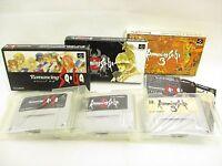 ROMANCING SAGA 1 2 3 Set Super Famicom Nintendo sf