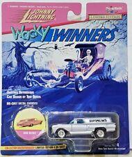Johnny Lightning Wacky Winners Silver 59 Chevy Wagon Bad News 1/64 Scale