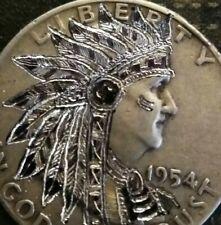 Hobo nickel 90% silver Franklin half dollar Free Shipping by J&M Tarantula
