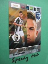 Panini Adrenalyn FIFA 365 NORDIC Edition GAME CHANGER Dybala Juventus Turin 2017