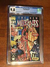 New Mutants 98 cgc 9.8.  1st Appearance of Deadpool!