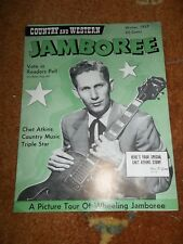 COUNTRY & WESTERN JAMBOREE CHET ATKINS GRETSCH winter 1957