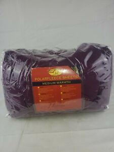 Polarfleece Sheets Medium Warmth, Berkshire, Twin XL, Berry (J2)