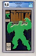 Marvel's Incredible Hulk #377 2nd Print White Pages CGC 9.0