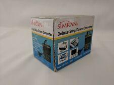 Simran Deluxe Step Down Converter Model Smf-200 200 W
