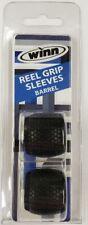Winn Grips Barrel Reel Grip Sleeves Black 2 PACK Value