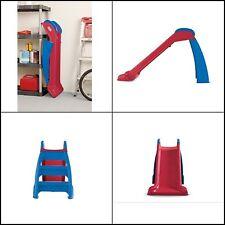 Little Tikes First Slide, Red/Blue Indoor/Outdoor Slide for Kids