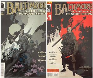 Baltimore The Plague Ships Dark Horse Comics #5 - 2010 & #1 - 2013 Mike Mignola