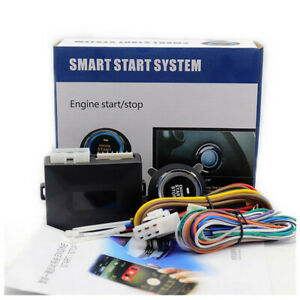 APP Remote Universal Car Engine Start Push Button Switch Ignition Starter Kit