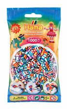 Hama 1000 Midi Bügelperlen 207-90 Mix 90 gestreift Ø 5 mm Perlen Steckperlen
