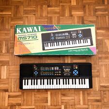 Kawai MS-710 ADSR Synthesizer (Japan,1991) with MIDI and box!