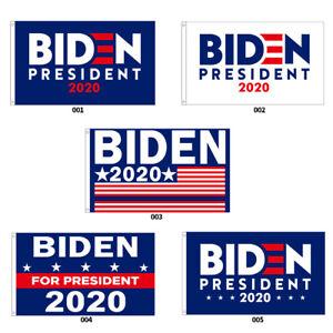 Joe Biden President 2020 Wall Campaign Flag Democrat 3'x5' Banner Outdoor Indoor