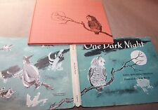 ONE DARK NIGHT EDNA MITCHELL PRESTON FIRST EDITION HARD COVER DUST JACKET