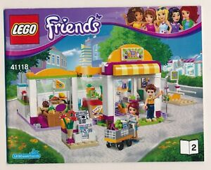 LEGO Friends 41118 - Book 2 - Instruction Manual ONLY