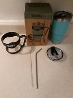 BEARCLAW Stainless Steel Water Tumbler With Straw (Pre-Owned, Great Condition)