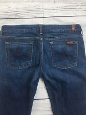 7 For All Mankind Womens A pocket Bootcut Medium Denim Jeans Size 30