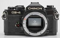 Chinon CE-4 analoge Spiegelreflexkamera Body Gehäuse SLR Kamera