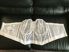 GODDESS 50FF  White Bridal Corset Bustier Bra  GD0689WHE