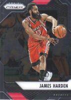 2016-17 Panini Prizm Basketball #221 James Harden Houston Rockets