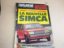 L AUTO JOURNAL - N° 19  - ANNEE  1977  *