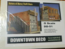 Downtown Deco O #DD51 Sisters of Mercy Thrift Store -- Kit  (Plaster kit)
