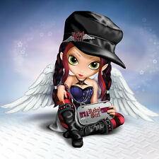 Its a Rebel Girl Thing Angel Figurine - Little Rebels - Jasmine Becket-Griffith