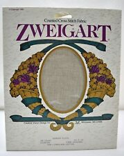 "Zweigart Quaker Cloth 28 Ct Cross Stitch Aida Fabric Country 14""x18"" New Old Stk"